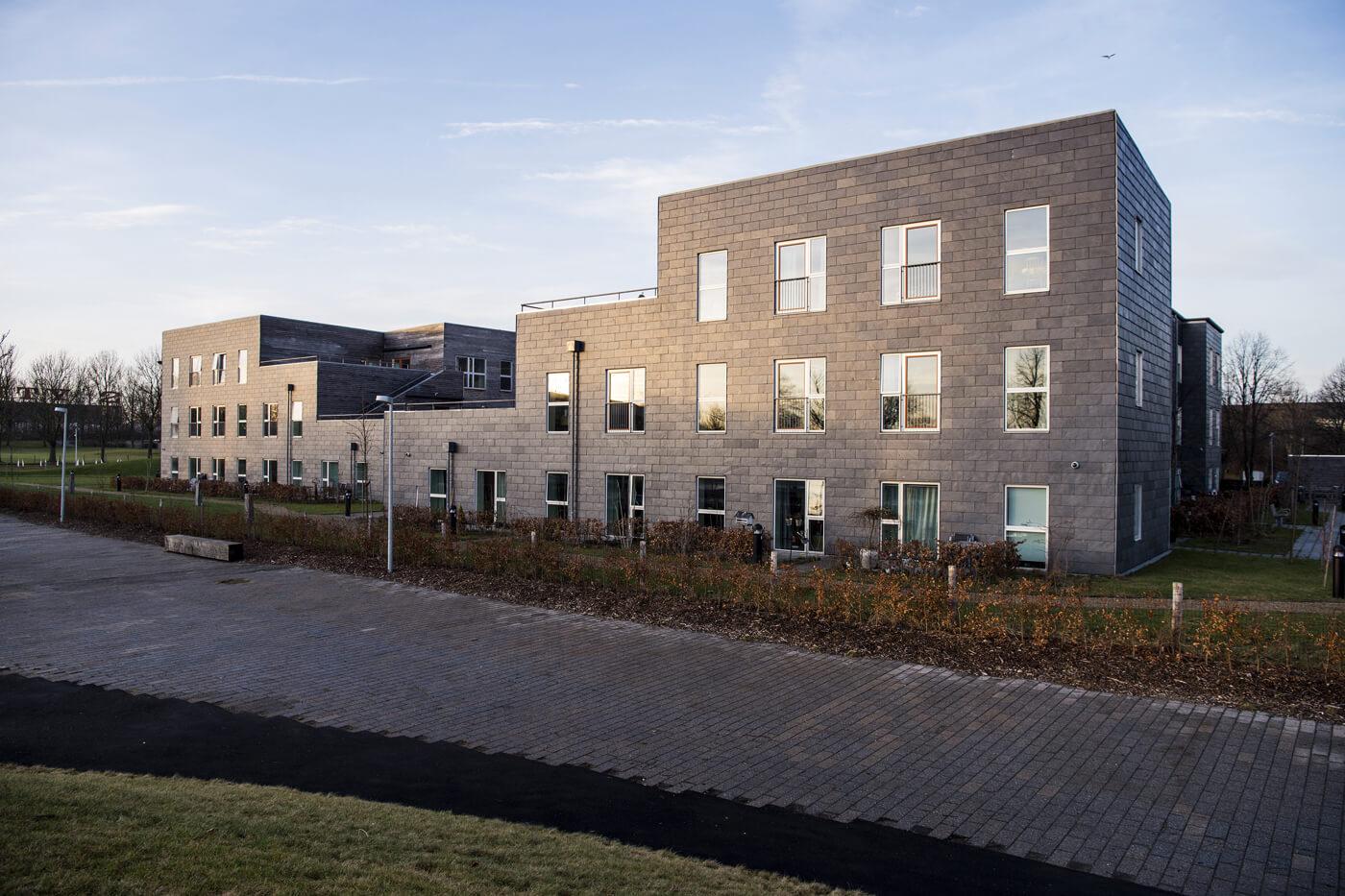 Jönsson har i totalentreprise opført det energirigtige Birkehøj Plejecenter