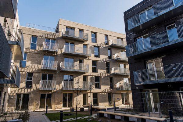 Nye boliger på række