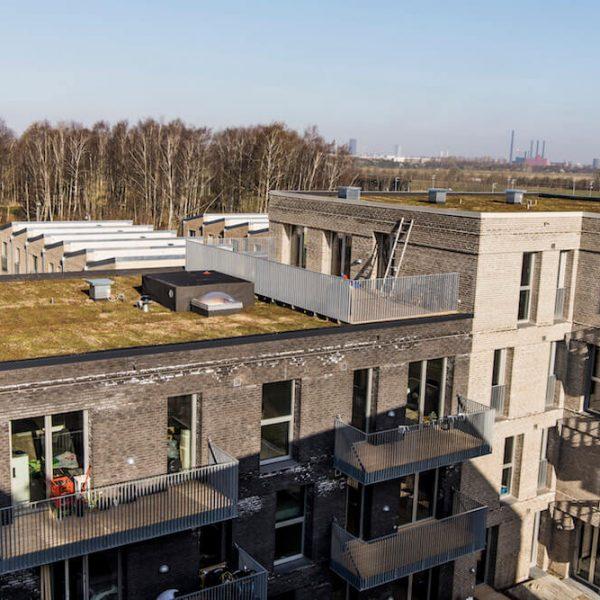 Jönsson har opført tre boligblokke i det nye Bellakvarter ved Bella Center i København