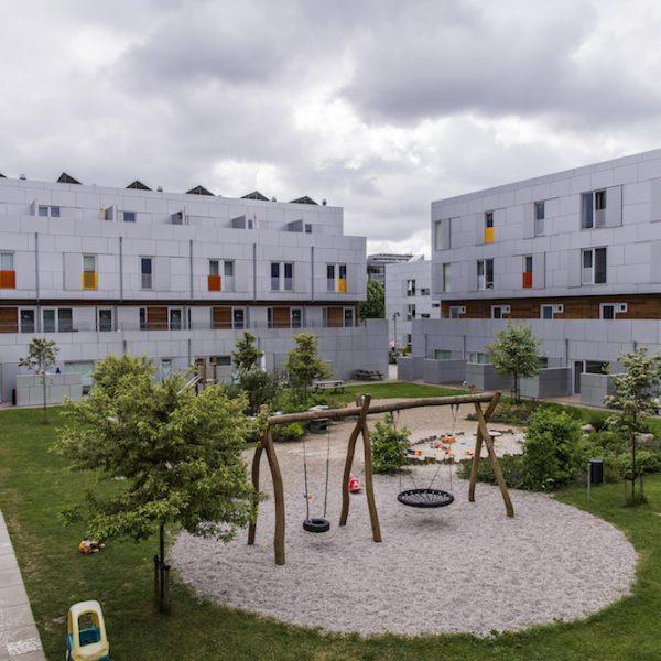 Jönsson har som totalentreprenør opført pleje- og familieboliger på Trekantgrunden ved DR-Byen