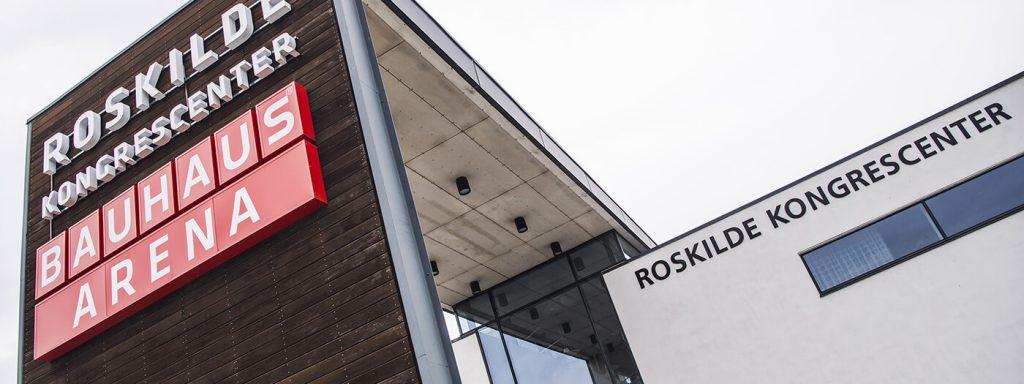 Jönsson har i hovedentreprise omdannet og udvidet Roskilde Kongres- og Idrætscenter.