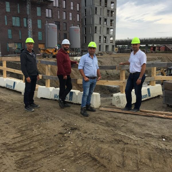 Jönsson opfører i totalentreprise to boligkaréer i det kommende Bellakvarter