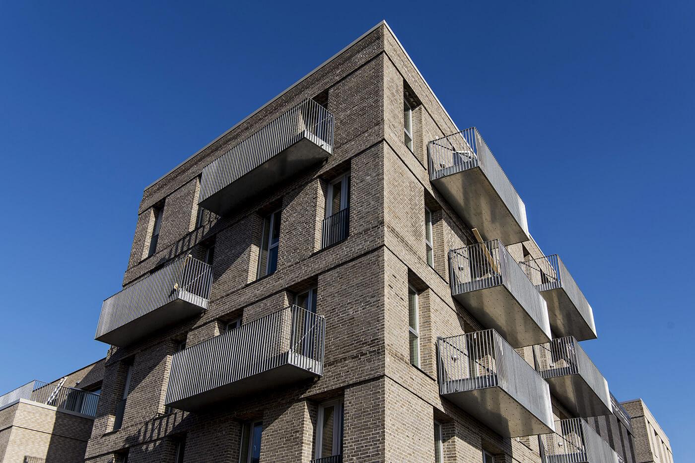 Jönsson har opført tre boligblokke i det nye Bellakvarter ved Bella Center i København.