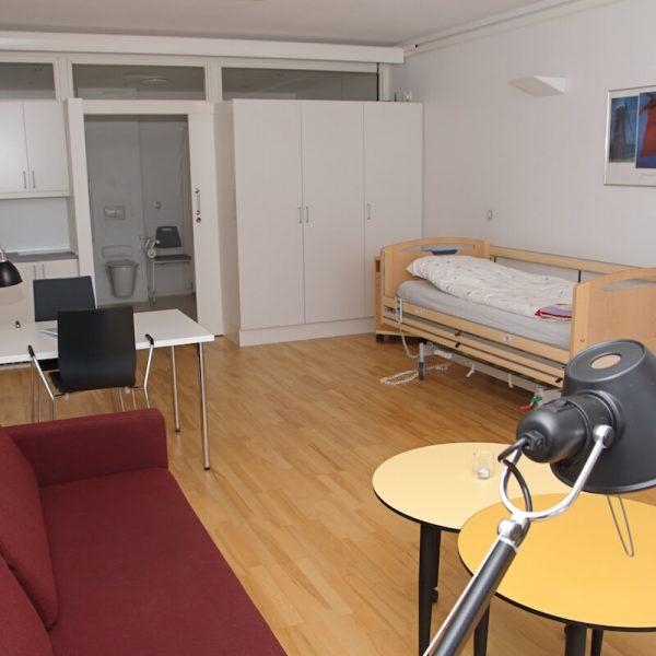 Jönsson har i totalentreprise opført Svanevig Hospice i Bandholm