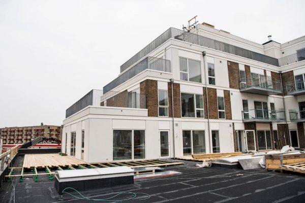 Jönsson hovedentreprenør på moderne boliger i Nordvest